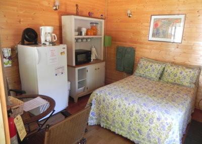 Rental cabin - inside